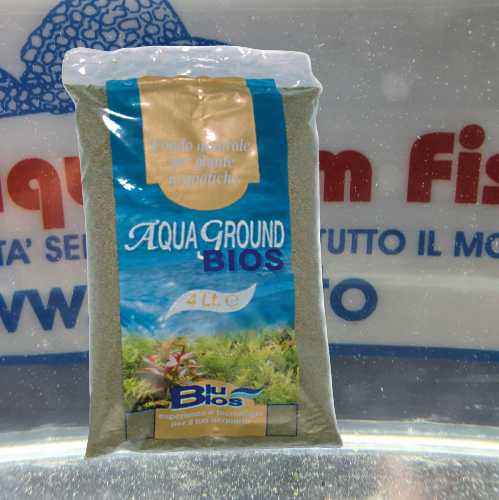 AQUAGROUND BIOS BROWN FINE 4 LT. Terra Allofana